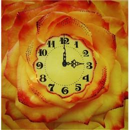 """Часы """"Чайная роза"""""""