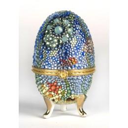 Яйцо-шкатулка 6