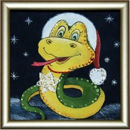 Новогодняя змейка