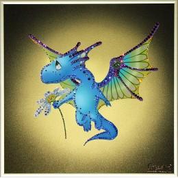 Цветочный дракон