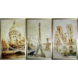 "Композиция ""Париж"" (триптих)"