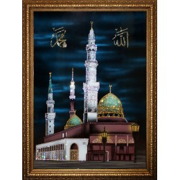 Мухаммед Пророк Аллаха (в багете)