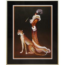 Дама с гепардом