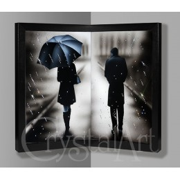 "Угловая картина ""Под дождем"""