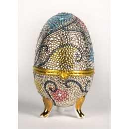 Яйцо-шкатулка 4