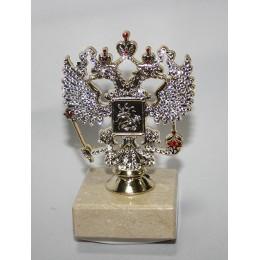 Герб РФ на подставке