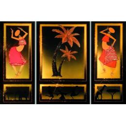 Знойная Африка (триптих)