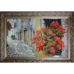 Цветочный переулок ( в багете)