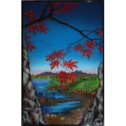 Пейзаж с кленами