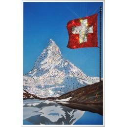 Гора в Альпах - Маттерхорн