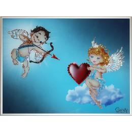 Влюбленные ангелочки