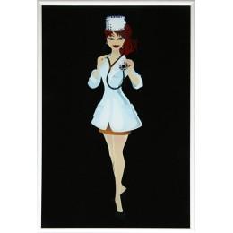 Девушка -врач