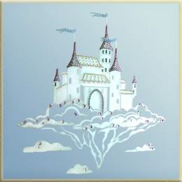 Волшебный замок (на зеркале)