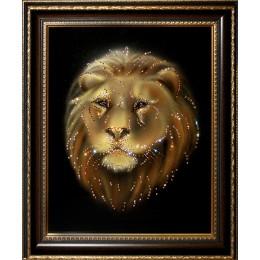 Лев ( в багете)