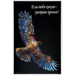 Сокол-с надписью(Крылья свободы)