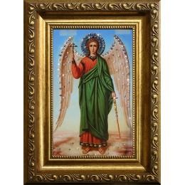 Ангел-Хранитель (стеклопечать)